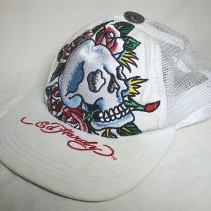 Dragon In Roses Girls Youth Adjustable Baseball Cap Ed Hardy